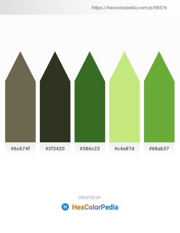 Palette image download - Dim Gray – Yellow Green – Dark Olive Green – Khaki – Olive Drab