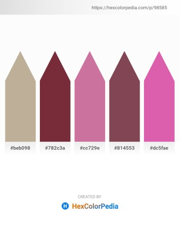 Palette image download - Dark Khaki – Brown – Pale Violet Red – Rosy Brown – Pale Violet Red
