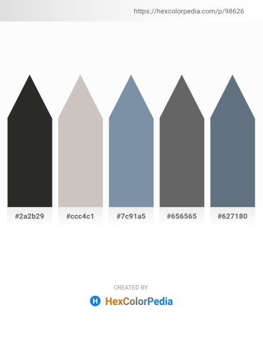 Palette image download - Black – Silver – Light Slate Gray – Dim Gray – Slate Gray