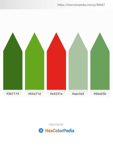 Palette image download - Forest Green – Olive Drab – Crimson – Dark Sea Green – Dark Sea Green