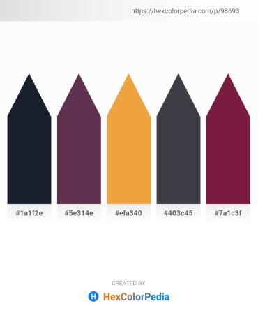 Palette image download - Dark Slate Gray – Dark Slate Gray – Sandy Brown – Dark Slate Gray – Brown