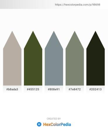 Palette image download - Dark Gray – Dark Olive Green – Light Slate Gray – Gray – Slate Gray