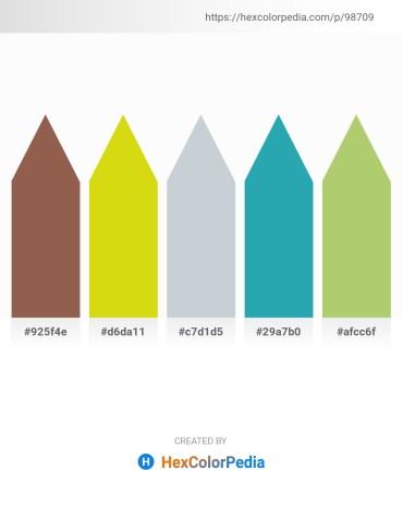 Palette image download - Sienna – Gold – Light Steel Blue – Light Sea Green – Dark Khaki