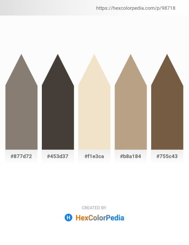 Palette image download - Gray – Dim Gray – Beige – Rosy Brown – Light Slate Gray