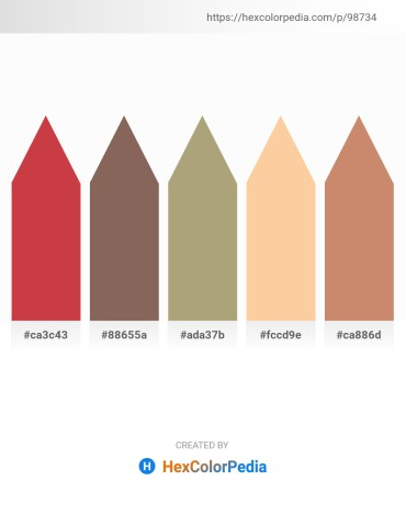 Palette image download - Indian Red – Dim Gray – Rosy Brown – Navajo White – Indian Red