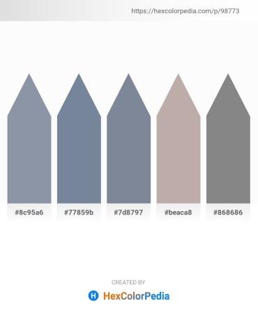 Palette image download - Light Slate Gray – Light Slate Gray – Light Slate Gray – Dark Gray – Gray