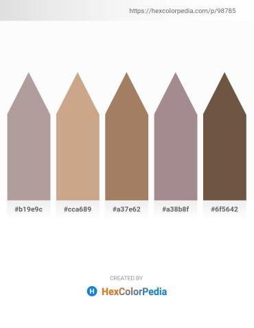 Palette image download - Dark Gray – Tan – Rosy Brown – Rosy Brown – Tan