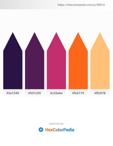 Palette image download - Midnight Blue – Midnight Blue – Indian Red – Orange Red – Light Salmon