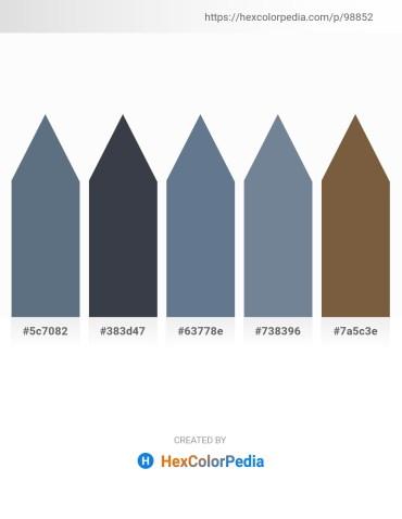 Palette image download - Slate Gray – Dark Slate Gray – Slate Gray – Light Slate Gray – Yellow Green