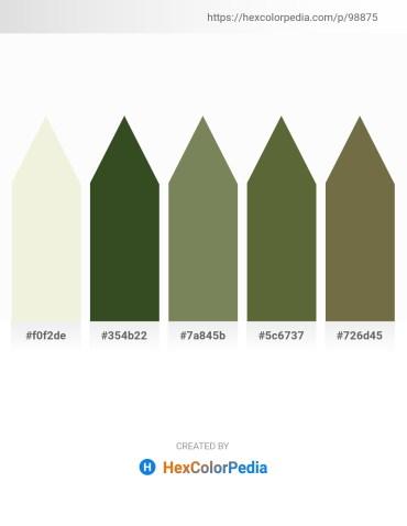 Palette image download - Beige – Dark Olive Green – Dim Gray – Dark Olive Green – Dark Olive Green