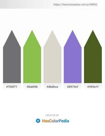 Palette image download - Slate Gray – Yellow Green – Light Gray – Medium Purple – Dark Olive Green