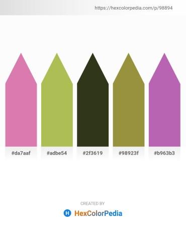 Palette image download - Pale Violet Red – Dark Khaki – Dark Olive Green – Dark Khaki – Orchid