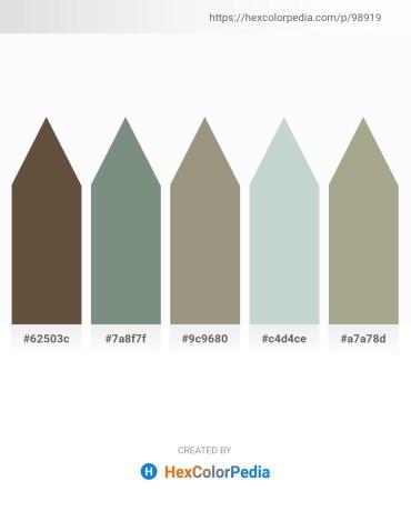 Palette image download - Dark Olive Green – Slate Gray – Gray – Light Steel Blue – Dark Gray