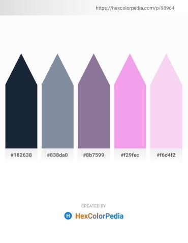 Palette image download - Dark Slate Gray – Light Slate Gray – Light Slate Gray – Violet – Wheat
