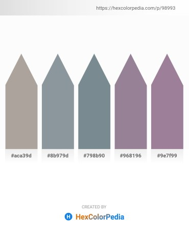 Palette image download - Dark Gray – Light Slate Gray – Slate Gray – Gray – Rosy Brown
