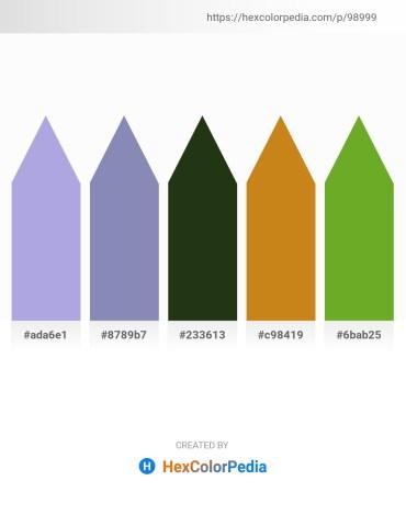 Palette image download - Light Steel Blue – Light Slate Gray – Dark Olive Green – Chocolate – Olive Drab