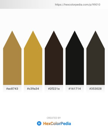 Palette image download - Peru – Peru – Dim Gray – Black – Black