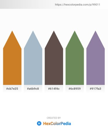 Palette image download - Chocolate – Light Steel Blue – Dim Gray – Dark Olive Green – Light Slate Gray