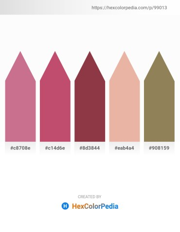 Palette image download - Pale Violet Red – Indian Red – Sienna – Burlywood – Dark Khaki