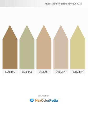 Palette image download - Dark Khaki – Beige – Tan – Tan – Tan