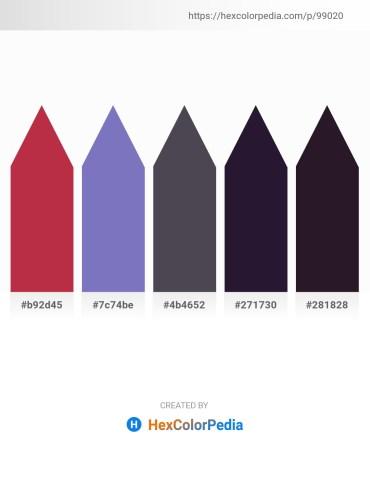 Palette image download - Brown – Slate Blue – Dark Slate Gray – Dark Slate Gray – Black