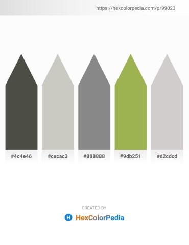 Palette image download - Dim Gray – Silver – Gray – Dark Khaki – Light Gray