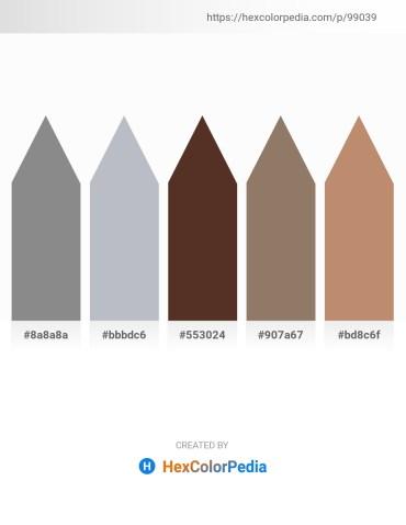 Palette image download - Gray – Light Steel Blue – Slate Gray – Gray – Steel Blue