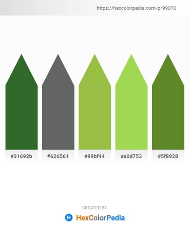 Palette image download - Dark Olive Green – Dim Gray – Yellow Green – Yellow Green – Olive Drab