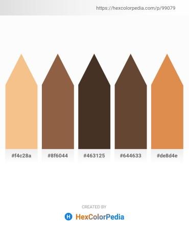 Palette image download - Khaki – Sienna – Dim Gray – Dim Gray – Peru