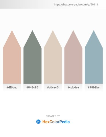 Palette image download - Tan – Slate Gray – Tan – Rosy Brown – Light Slate Gray