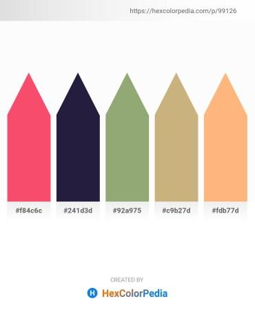 Palette image download - Tomato – Tomato – Dark Sea Green – Tan – Light Salmon