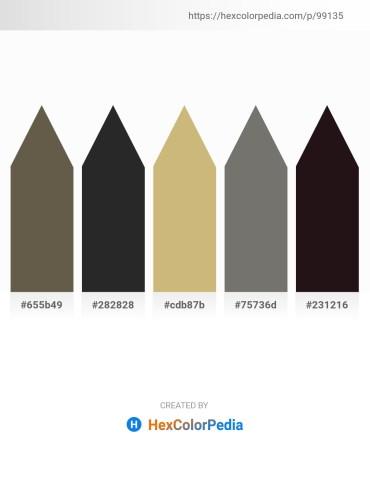 Palette image download - Dim Gray – Black – Tan – Dim Gray – Black