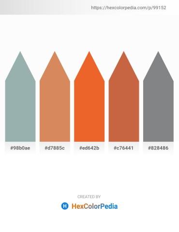 Palette image download - Light Slate Gray – Peru – Chocolate – Peru – Slate Gray