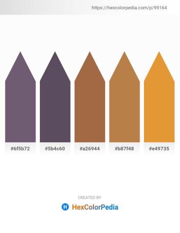 Palette image download - Dim Gray – Dark Slate Blue – Sienna – Peru – Goldenrod