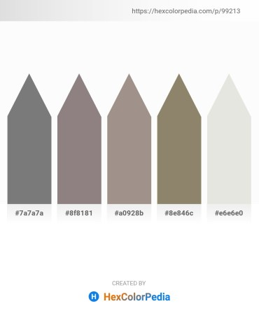Palette image download - Gray – Gray – Dark Gray – Gray – Gainsboro