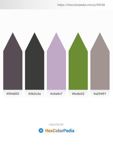 Palette image download - Dim Gray – Dark Slate Gray – Light Steel Blue – Olive Drab – Dark Gray