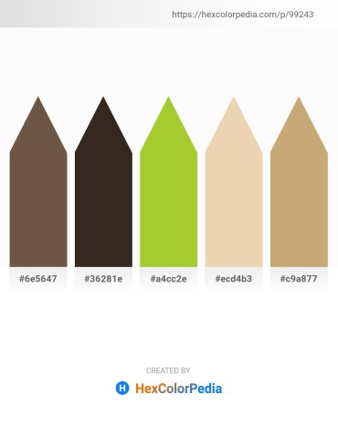 Palette image download - Dim Gray – Sky Blue – Yellow Green – Pale Goldenrod – Tan