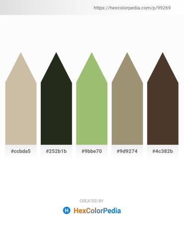 Palette image download - Tan – Dim Gray – Dark Khaki – Dark Slate Gray – Dark Olive Green