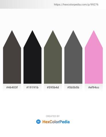 Palette image download - Dim Gray – Dark Khaki – Dim Gray – Dim Gray – Violet