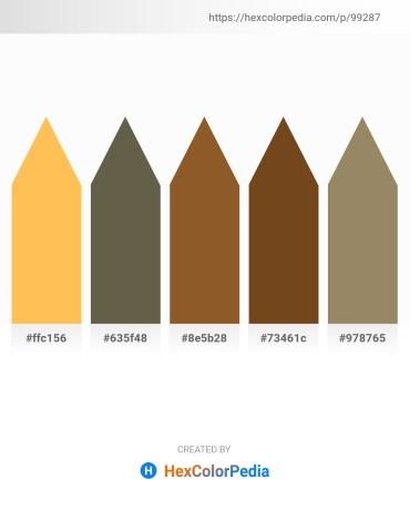 Palette image download - Sandy Brown – Dim Gray – Sienna – Saddle Brown – Gray