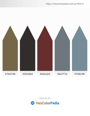 Palette image download - Dark Olive Green – Black – Sienna – Slate Gray – Light Slate Gray