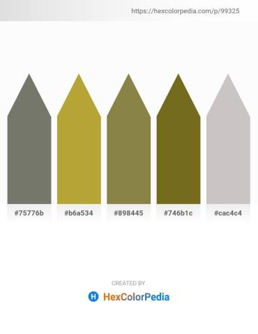 Palette image download - Dim Gray – Dark Khaki – Dark Olive Green – Olive Drab – Silver