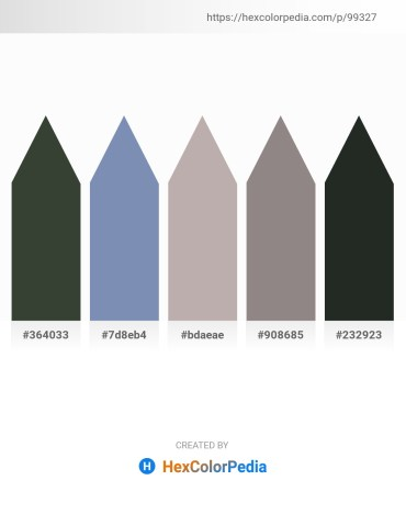 Palette image download - Dark Slate Gray – Light Slate Gray – Dark Gray – Gray – Dark Slate Gray