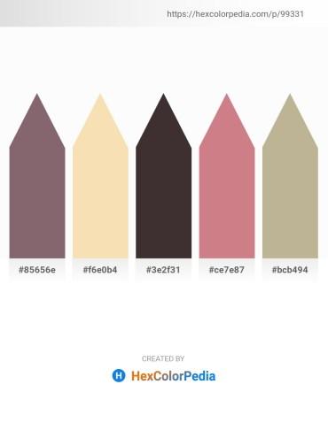 Palette image download - Dim Gray – Wheat – Tan – Pale Violet Red – Peru