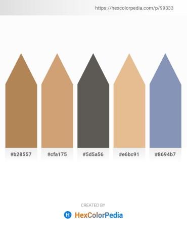 Palette image download - Goldenrod – Tan – Dim Gray – Burlywood – Light Slate Gray