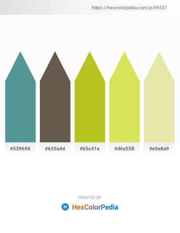 Palette image download - Cadet Blue – Dim Gray – Goldenrod – Khaki – Pale Goldenrod