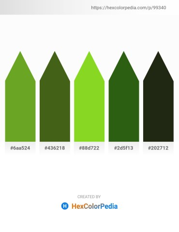 Palette image download - Olive Drab – Olive Drab – Yellow Green – Forest Green – Steel Blue