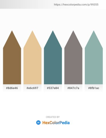 Palette image download - Gray – Burlywood – Cadet Blue – Gray – Dark Sea Green