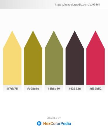 Palette image download - Khaki – Olive Drab – Dark Olive Green – Light Slate Gray – Firebrick