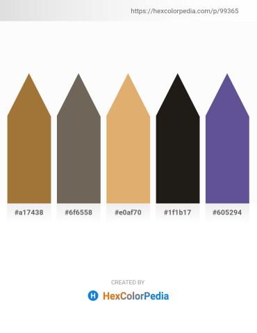 Palette image download - Sienna – Dim Gray – Burlywood – Black – Dark Slate Blue